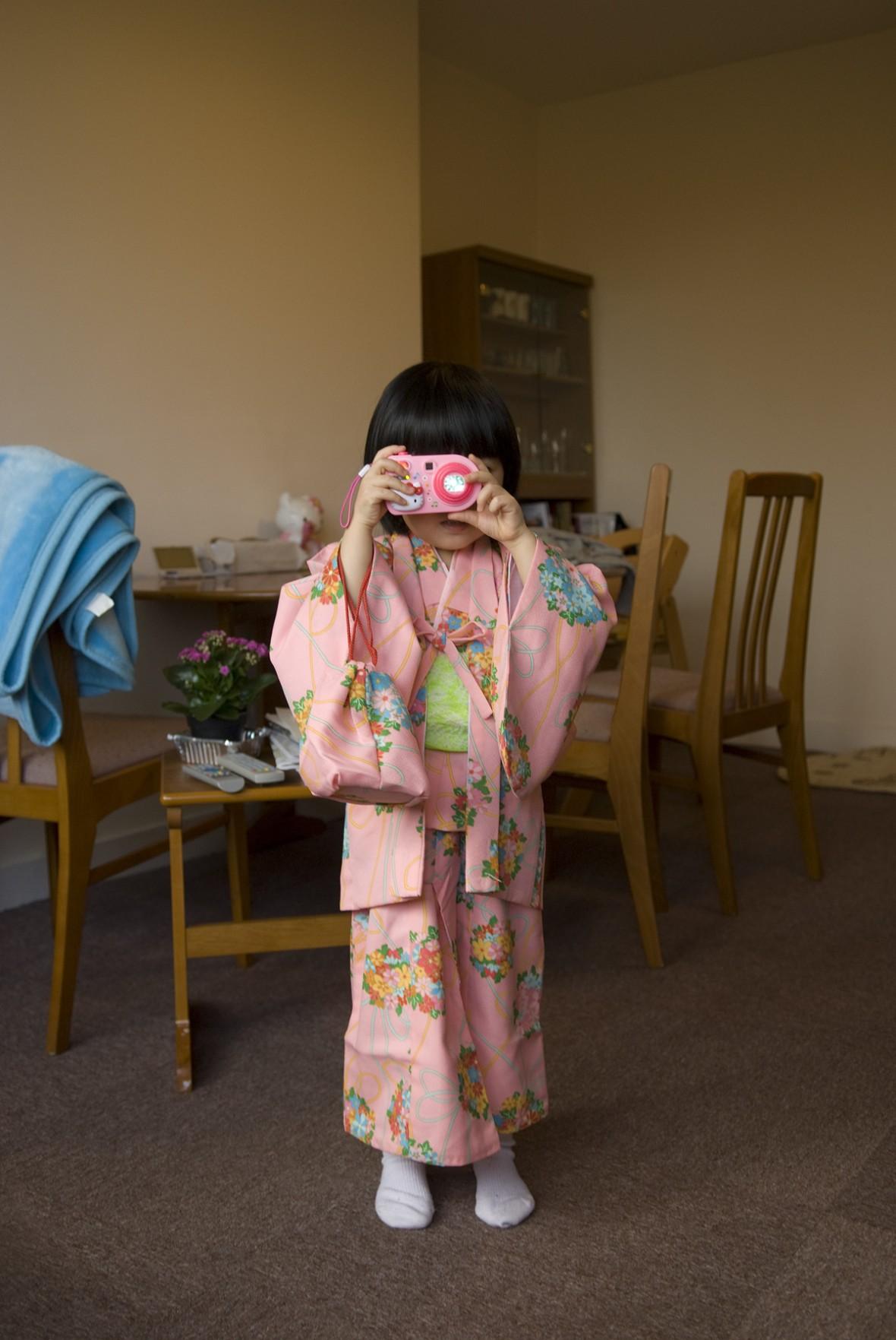 Moeko from Japan, in Cambridge, UK