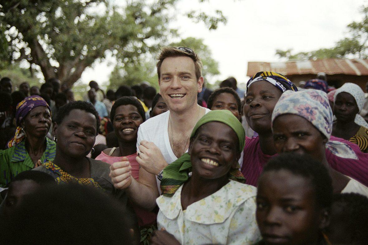 UNICEF Goodwill Ambassador Ewan McGregor in Malawi