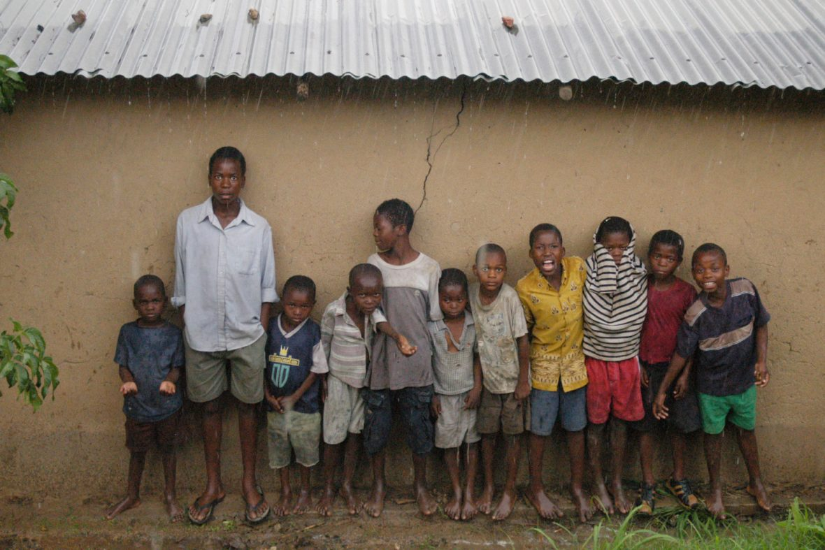 'Child headed households' are common in Malawi, due to the prevalence of HIV / AIDS