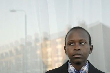 Emmanuel from Sudan, in Bolton, UK