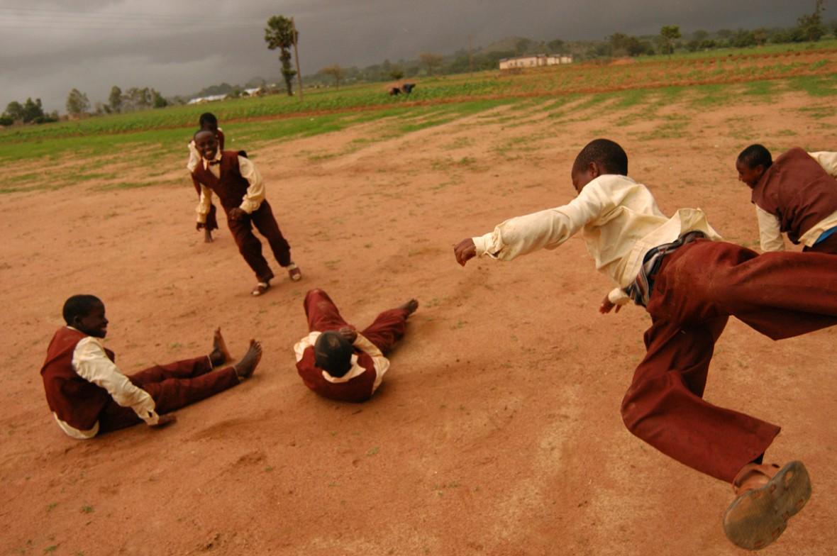 Break time in Jos, Nigeria