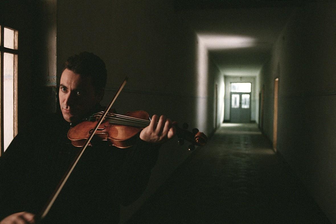 Maxim Vengerov, recording in Auschwitz