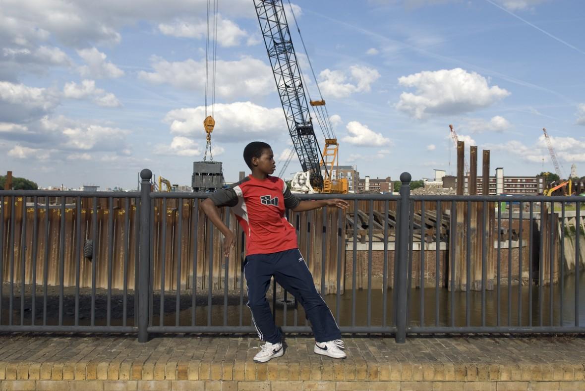 Boubacar from Niger, in London, UK