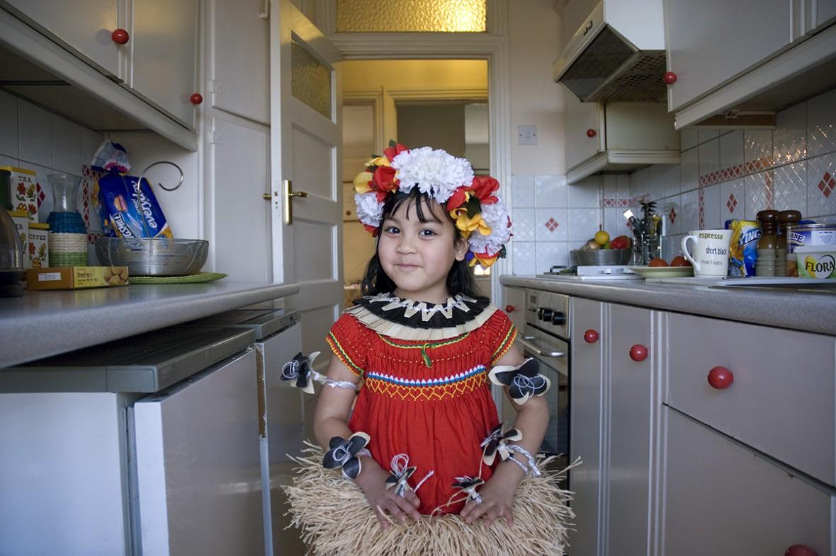 Isabella from Kiribati, in London, UK