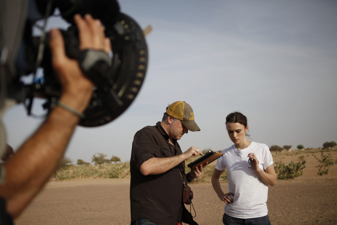 Keira Knightley filming for UNICEF in N'Djamena, Chad
